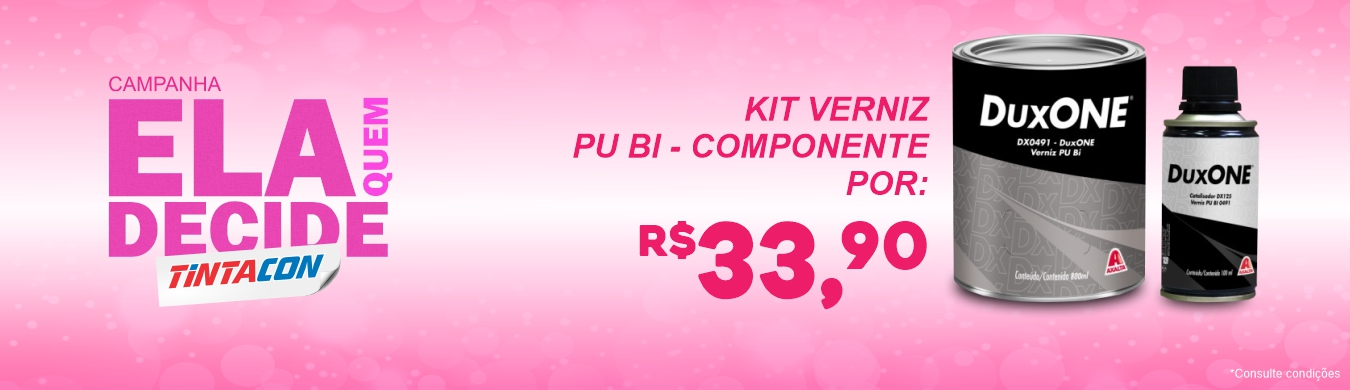 Kit Verniz Duxone - R$34,90