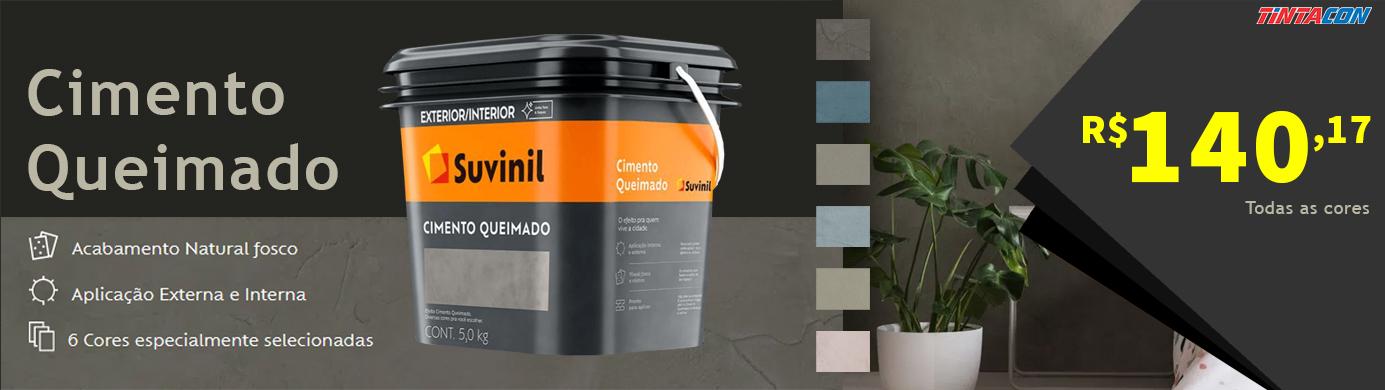 Banner- Cimento Queimado Suvinil - 140,17