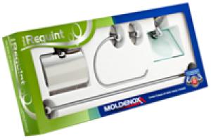 Kit Acessório 5 Peças Cromado Requint - Moldenox