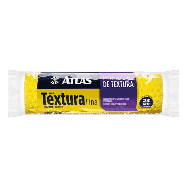 Rolo Textura 23cm 110/75 - Atlas