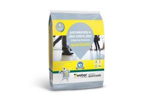Argamassa Piso Sobre Piso Interno 20kg Branca - Quartzolit