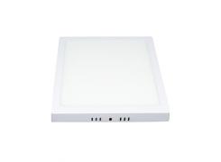 Luminária LED Sobrepor Downlight Quadrada Bivolt 30W 6500K - Avant