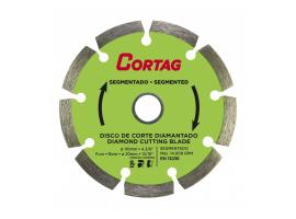 Disco Diamantado Segmentado 20x110mm - Cortag