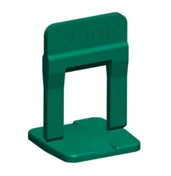 Nivelador de Piso 2mm Pacote 100UN Verde - Cortag