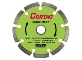 Disco Diamantado Segmentado Eco 20x110mm - Cortag