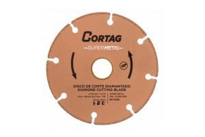 Disco Diamantado Super Metal 115x222mm - Cortag