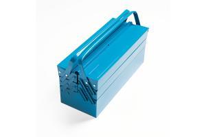 Caixa de Ferramentas Azul com 5 Gavetas 43800/005 - Tramontina