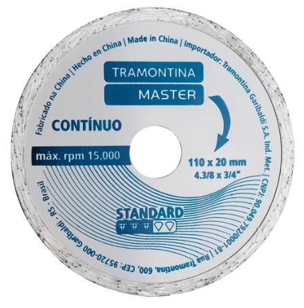 Disco Diamantado Corte Contínuo 4.3/8 42594/504 - Tramontina