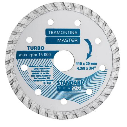 Disco Diamantado Corte Turbo 4.3/8 42596/504 - Tramontina