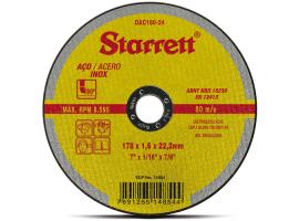 Disco Abrasivo de Corte 178x1,6x22,23cm - Starrett