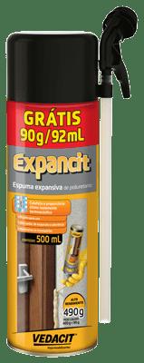 Espuma Expansiva Expancit 500mL - Vedacit