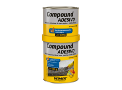 Compound Adesivo 1kg A+B - Vedacit