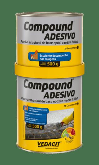 Compound Adesivo 1kg A+B - Vedacit