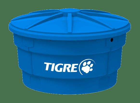 Caixa D'Agua Polietileno c/ Tampa 310L - Tigre