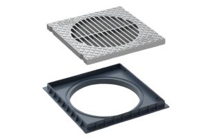 Grelha Aluminio Caixa Areia - Tigre
