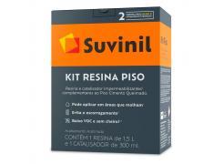 Kit G Resina + Catalisador Piso Cimento Queimado 1,8KG - SUVINIL