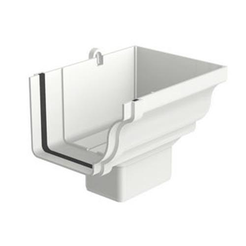 Bocal Retangular Direito Aquapluv Style - Flex