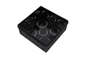 Caixa de Luz Eletroduto Preto 4x4 - Tigre
