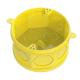 Caixa Octogonal Fundo Movel 4x4 TFlex Amarelo - Tigre