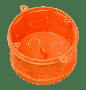 Caixa Octogonal Fundo Movel 4x4 Laranja - Tigre