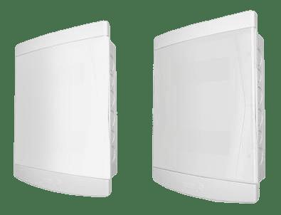 Quadro Distribuição Embutir 12/16 c/ Barramento Porta Branca - Tigre