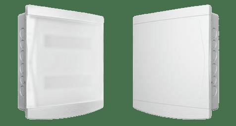 Quadro Distribuição 18/24 Disjuntores S/ Barramento Porta Branca - Tigre