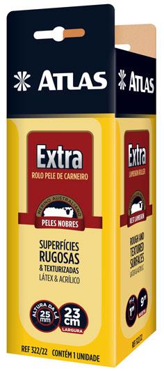 Rolo de Lã Extra 23cm 25mm 322/22 - Atlas