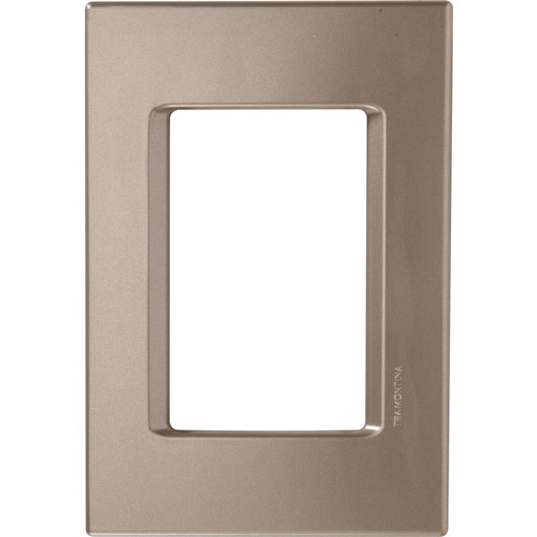 Placa 3P 4x2 IzyFlat Ouro Velho 57104/022 - Tramontina