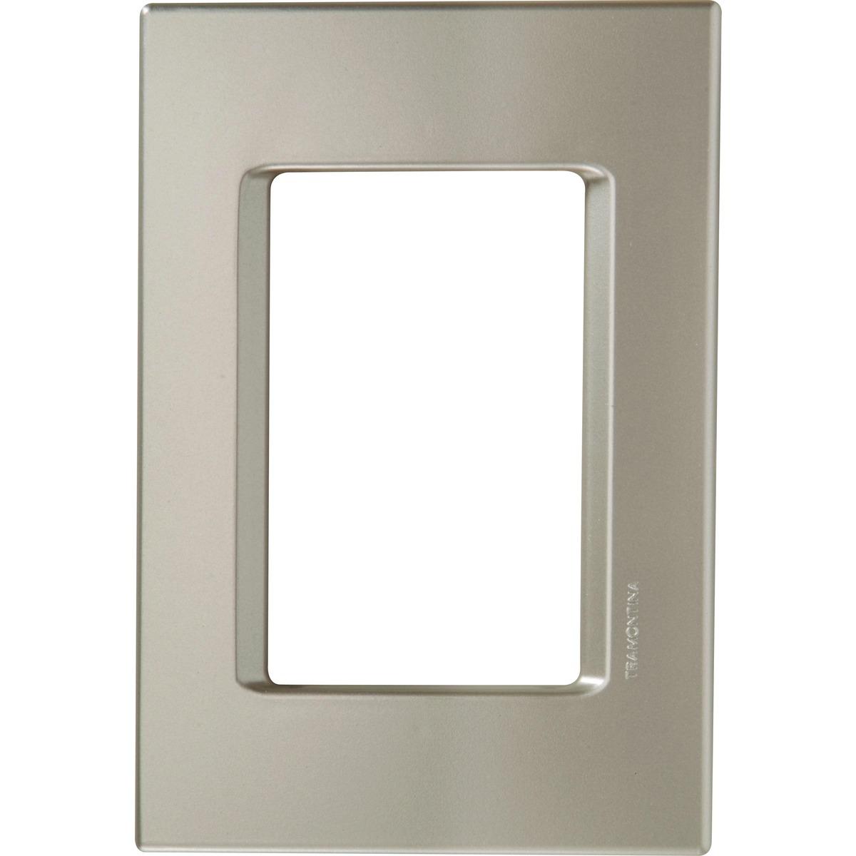 Placa 3P 4X2 Izy Flat Prata Perol 57104/023 Tramontina