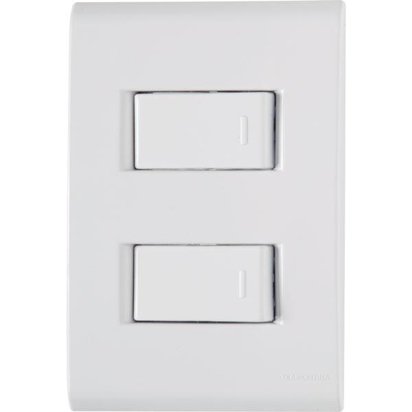 Interruptor Simples 2T 10A/250V Liz 57170/040 - Tramontina