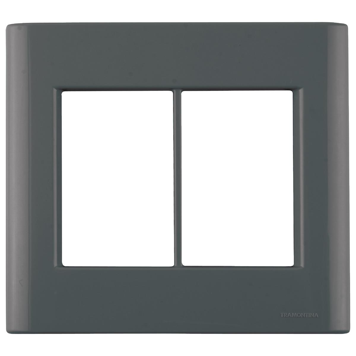 Placa 6P 4X4 GIZ 57200/078 Tramontina