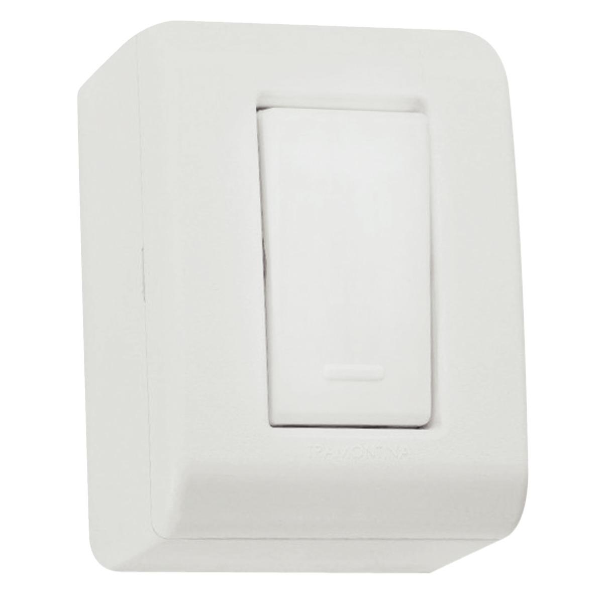 CX C/1 Interruptor Simples Sist X Lizflex 57304/001 Tramon