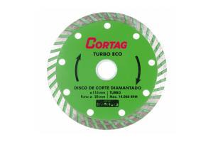 Disco Diamantado Eco Turbo 20x110mm - Cortag