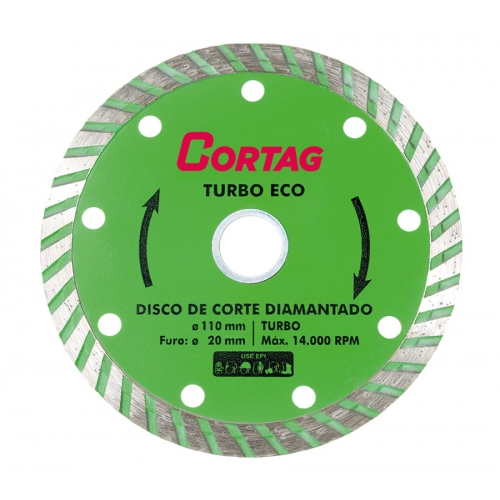 Disco DIamantado ECO Turbo  CORTAG