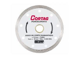 Disco Diamantado Porcelanato Turbo 20x110mm - Cortag