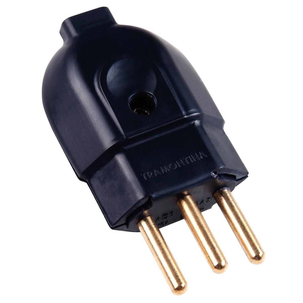 Plug Macho  PR 20A 2P+T 57403007 Tramontina