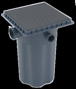 Caixa Esgoto com Cesta Limpeza 50x100 - Tigre
