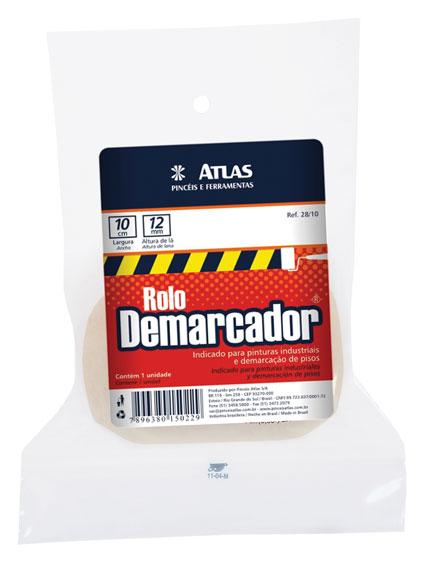 Rolo de Lã Demarcador 10cm 28/10 - Atlas