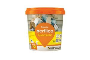 Rejunte Acrilico 1kg - Quartzolit