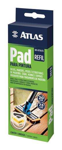 Refil Pad Pintura 20x7,5cm - Atlas