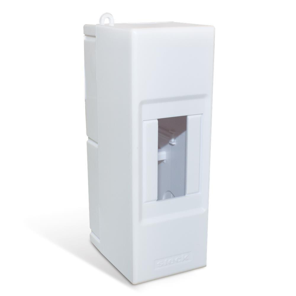 Caixa PVC Sobrepor Para 1 ou 2 Disjuntores Din Branco IP40 SSCT2 - GOMES