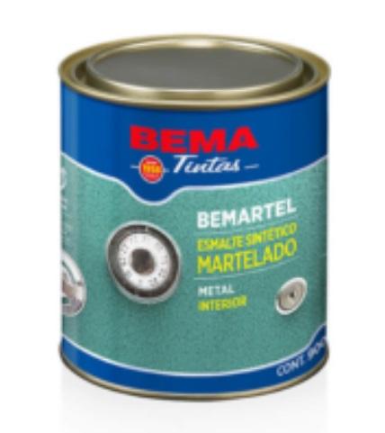 Bemartel - Esmalte Sintético Martelado Azul Escuro 1/4 900 ml