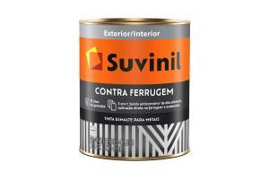Esmalte Contra Ferrugem 900ml Brilhante - Suvinil