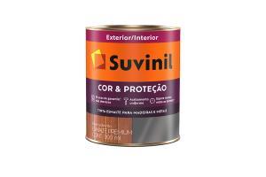 Esmalte Cor e Proteção 900ml Fosco - Suvinil