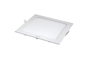 Luminária LED Embutir Downlight SLI Quadrado Bivolt 18W 6500K - Avant