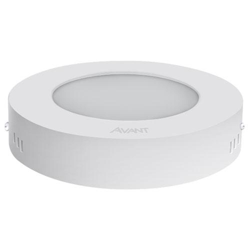 Luminária LED Sobrepor Redonda Bivolt 18W BR6500 - Avant