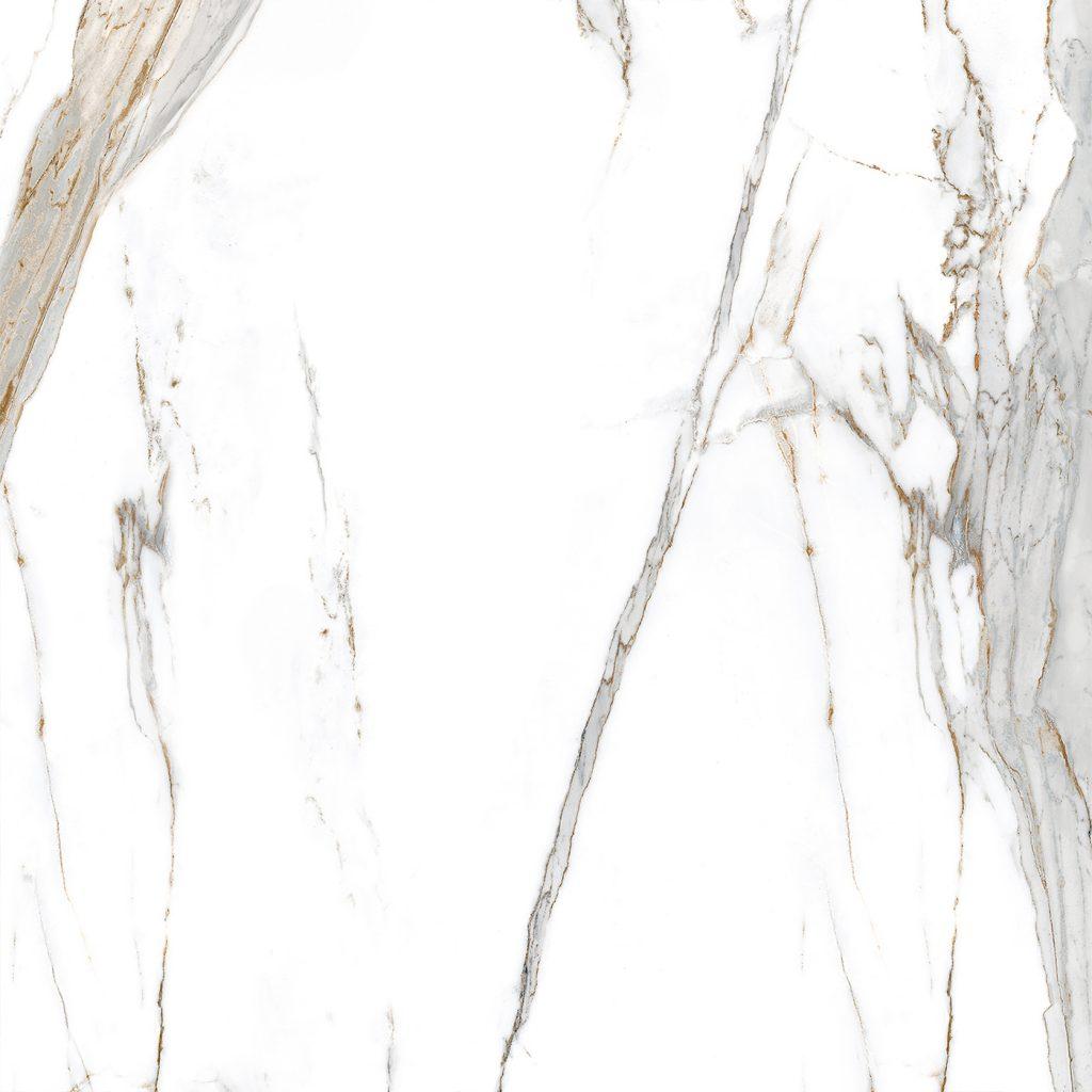 Porcelanato Polido Retificado Calacata Oro Lux 90X90