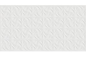 Revestimento Acetinado Monoporoso Fiori Bianco Retificado 32x60