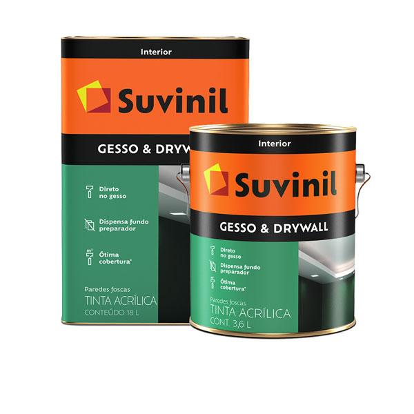 Tinta p/ Gesso & Drywall Branco - Suvinil