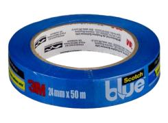 Fita Crepe Profissional Scotch Blue 24mm x 50m - 3M
